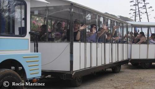 Disfrutar del tren en Ibiza