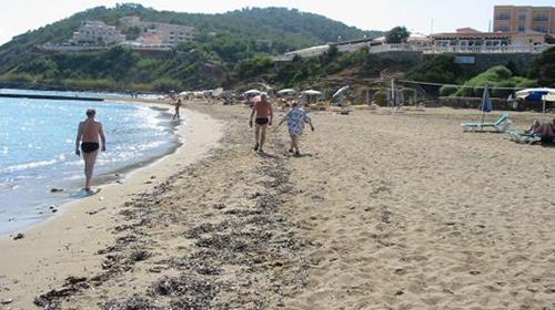 Playa es Figueral  (Santa Eularia)