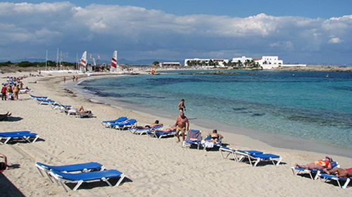 Playa de es Pujols  (Formentera)
