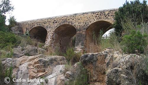 El Pont Vell del río Santa Eularia
