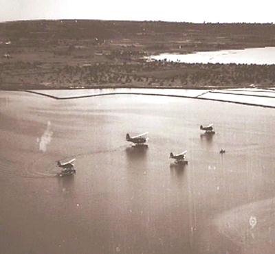 Aviones estany años 30 Formentera