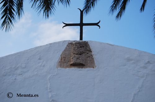 Sant Jordi cruz iglesia