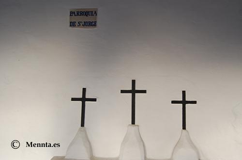 Sant Jordi tres cruces