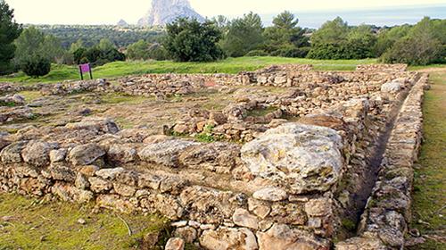 Asentamiento púnico-romano de Cala d´hort