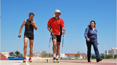 Bernabé Rodríguez, Campeón del Mundo de Nordic Walking