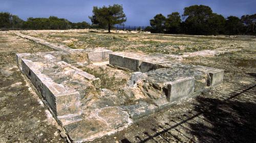 El castillo romano de Can Blai