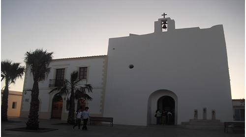 La iglesia de Sant Francesc Xavier