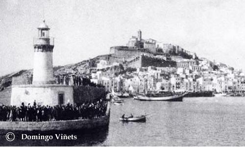 Puerto Ibiza 1930
