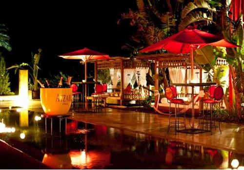 Restaurante Atzaro noche