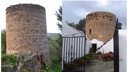 Dos torres de Atzaró