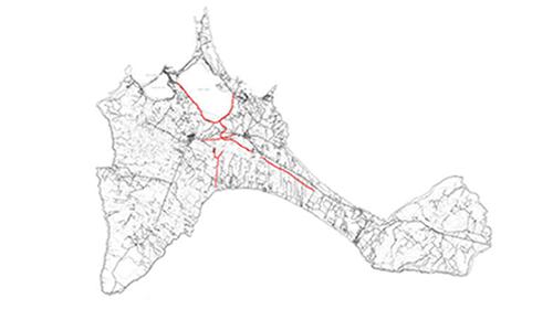 caminos interiores Formentera 500