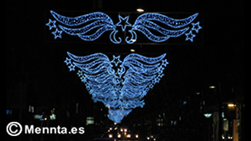 iluminacion navideña 500