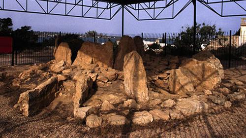 El sepulcro megalítico de Ca Na Costa