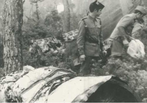 Accidente aereo 1972 ses roques altes