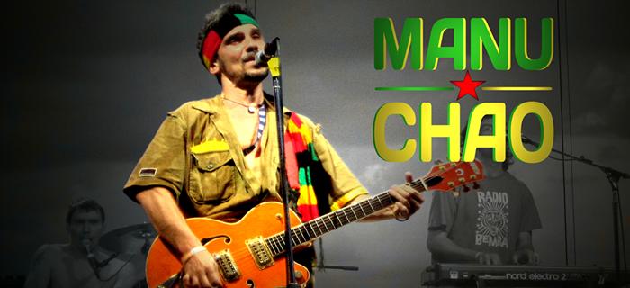Manu Chao en concierto en Las Dalias