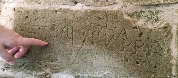 inscripción murallas 725