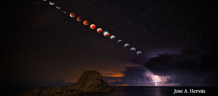 La NASA elige como imagen del día una foto tomada en Ibiza