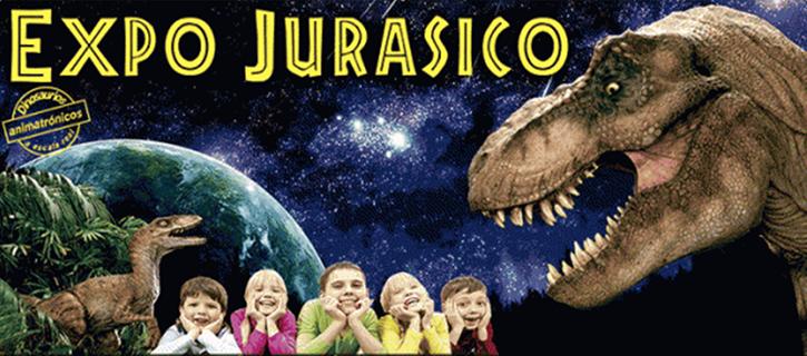 Los dinosaurios del Jurásico llegan al recinto ferial