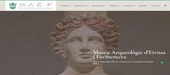 Paseo virtual en la nueva web del Museo Arqueológico de Ibiza